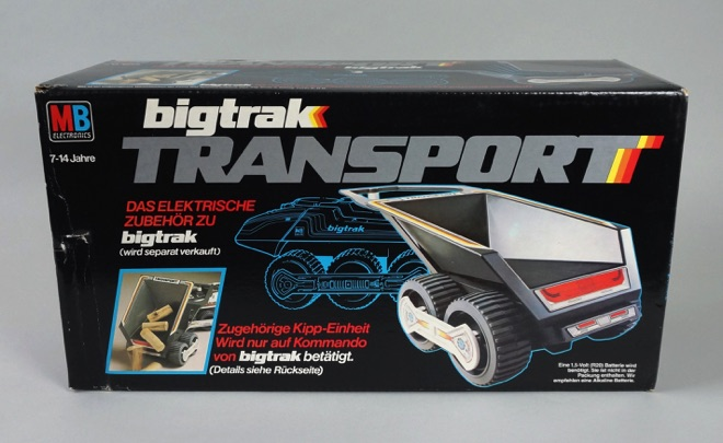 Big Trak - Milton Bradley (1979) BOX